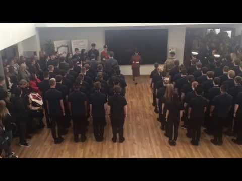 Uniformed Services - Armistice Day 2016