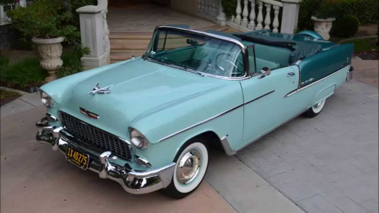 All Chevy 55 chevy for sale : 1955 Chevy Bel Air, Convertible, Body Off, Concours Restoration ...