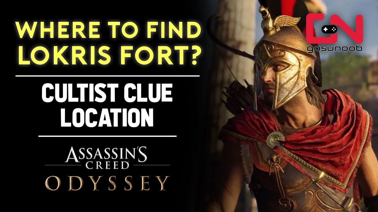Assassins Creed Odyssey Where To Find Lokris Fort Cultist Clue Location Youtube