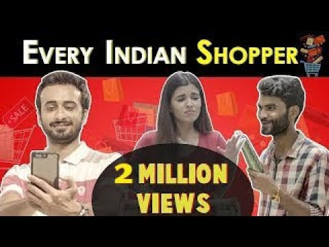 Every Indian Shopper Ever | Ft. Bade & Nikhil Vijay | RVCJ