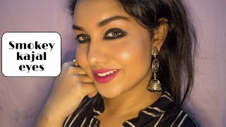 HOW TO APPLY KAJAL IN DIFFERENT WAYS | SMOKEY EYES TECHNIQUES