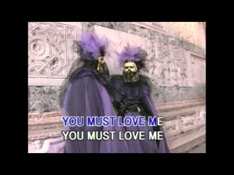 You Must Love Me (Karaoke) - Style of Madonna