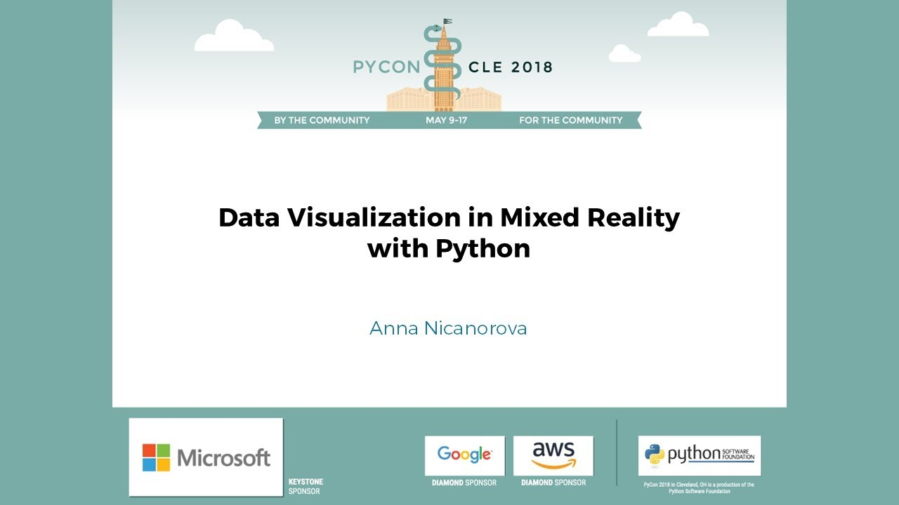 Image from Data Visualization in Mixed Reality with Python