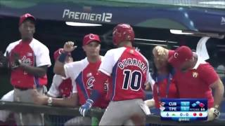 WBSC 2015 Premier 12 - Cuba vs Taipei de China (Resumen)