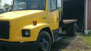 PT.1 FREIGHTLINER FL70 LOCKED UP BRAKES AND A CAN OF WORMS