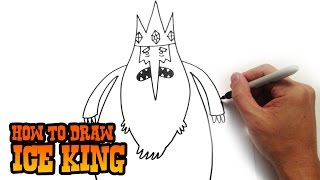 How to Draw Ice King - Adventure Time- Video Lesson