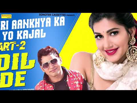 Teri Aankho Ka Yo Kajal Part 2 | Sapna Chaudhary, Veer Dahiya | Latest Haryanvi Songs Haryanvi 2019