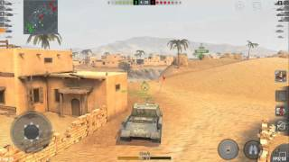 world of tanks blitz isu 152 4000 dmg in tier 10 battle played on nvidia shield