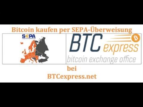 Bitcoins Kaufen überweisung