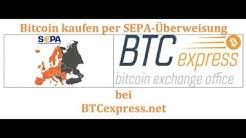 BTCexpress - Bitcoin kaufen mit SEPA Überweisung
