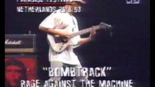 RATM - Paradise Festival - Know Your Enemy + Bombtrack live in 1993 feat. Maynard Keenan from Tool