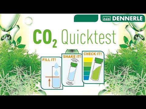Détermination rapide  de la teneur en CO2 dans l'aquarium