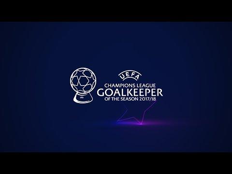 UEFA Champions League GOALKEEPER of the Season 2017/18 shortlist