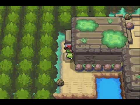 Pokemon Soul Silver Walkthrough Part 08 Ruins of Alph