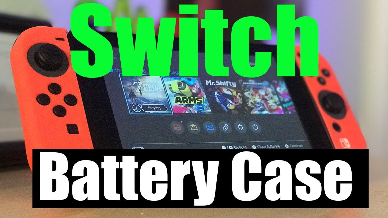reputable site a96cb 04249 Nintendo Switch Antank Battery Case Review
