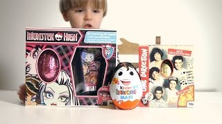 Monster High Egg and Kinder Valentine