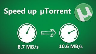 How to Speed Up uTorrent 3.5 [Best Settings] - Highest Download Speed!