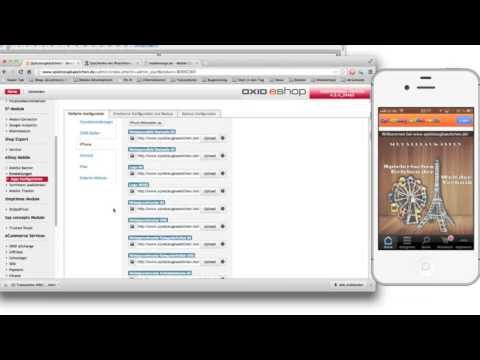 Oxid EShop Mobile Walkthrough