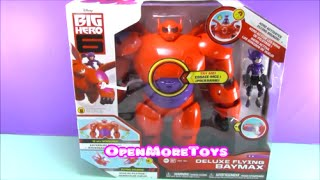 Big Hero 6 Toys Deluxe Flying Baymax New Disney Movie Big Hero Six Review and Unboxing