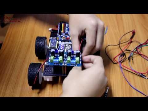 i-Duino R3B Course Online by TESR(Bluetooth IOIO Robot Car)