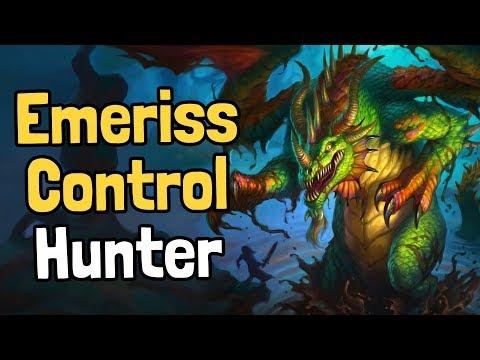 Emeriss Control Hunter Decksperiment - Hearthstone