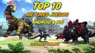 TOP 10 MEJORES JUEGOS PARA ANDROID & IOS 2019 OFFLINE / ONLINE