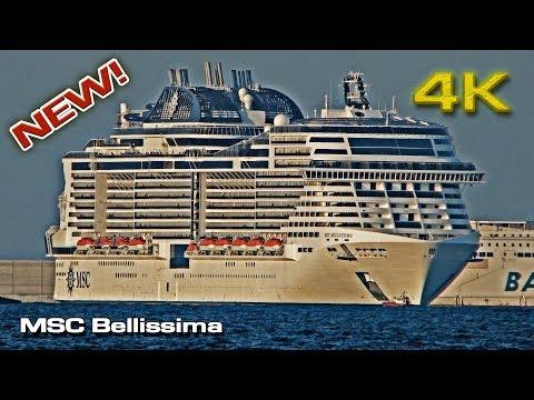 MSC Bellissima [4K] Valencia 2019 (NEW!)