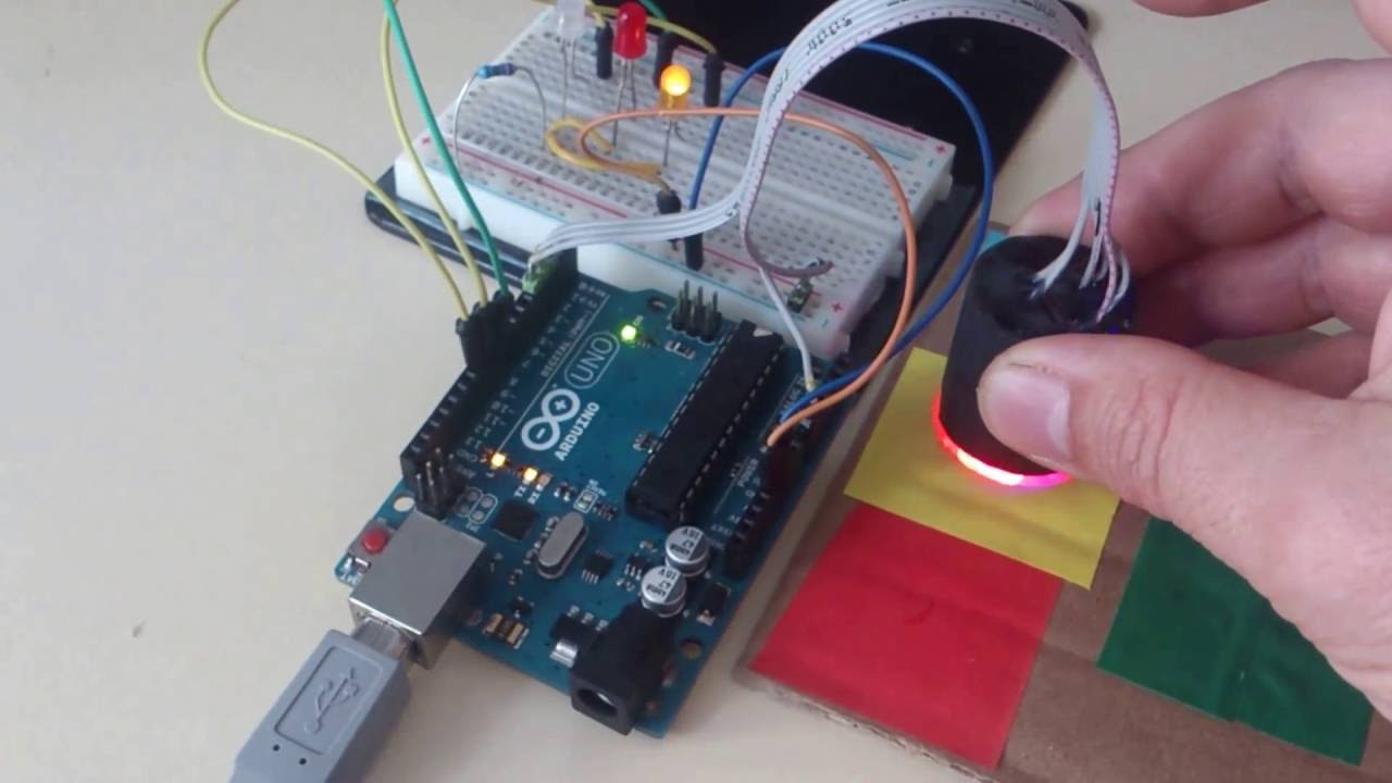 Devorama Rgb Color Sensor On Arduino