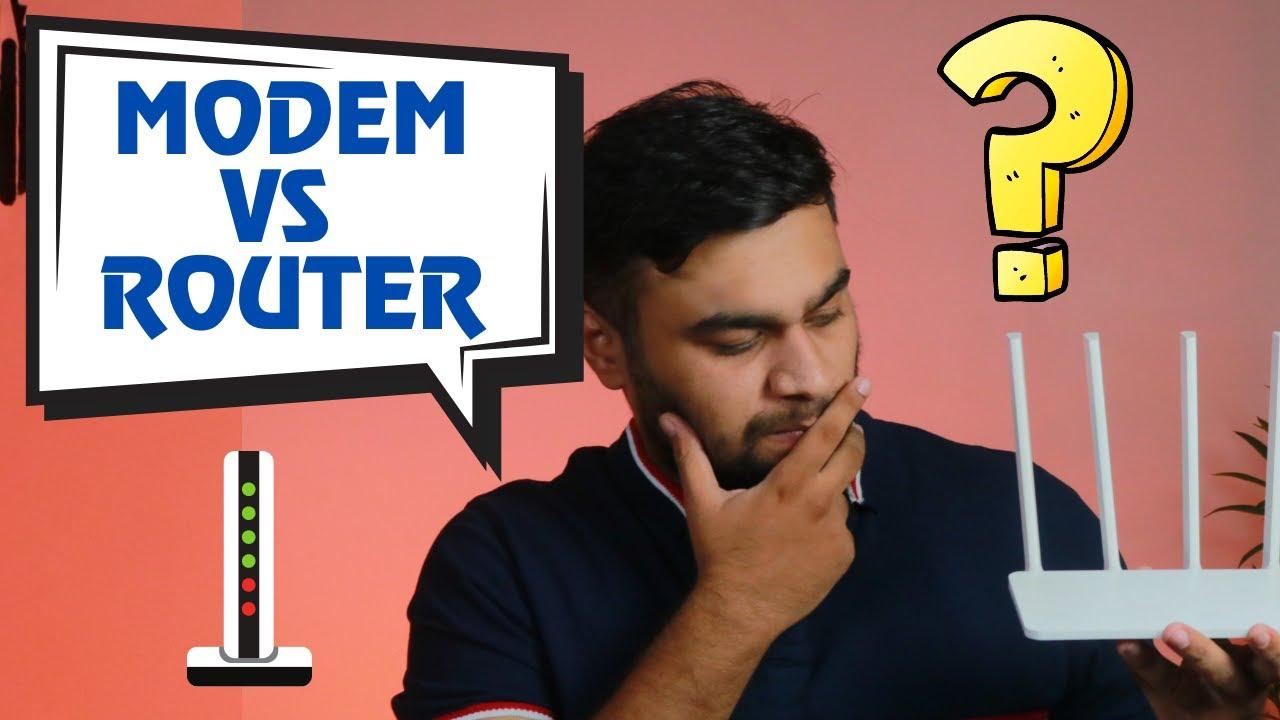 Modem Vs Routers | Kya farak hai dono me ?