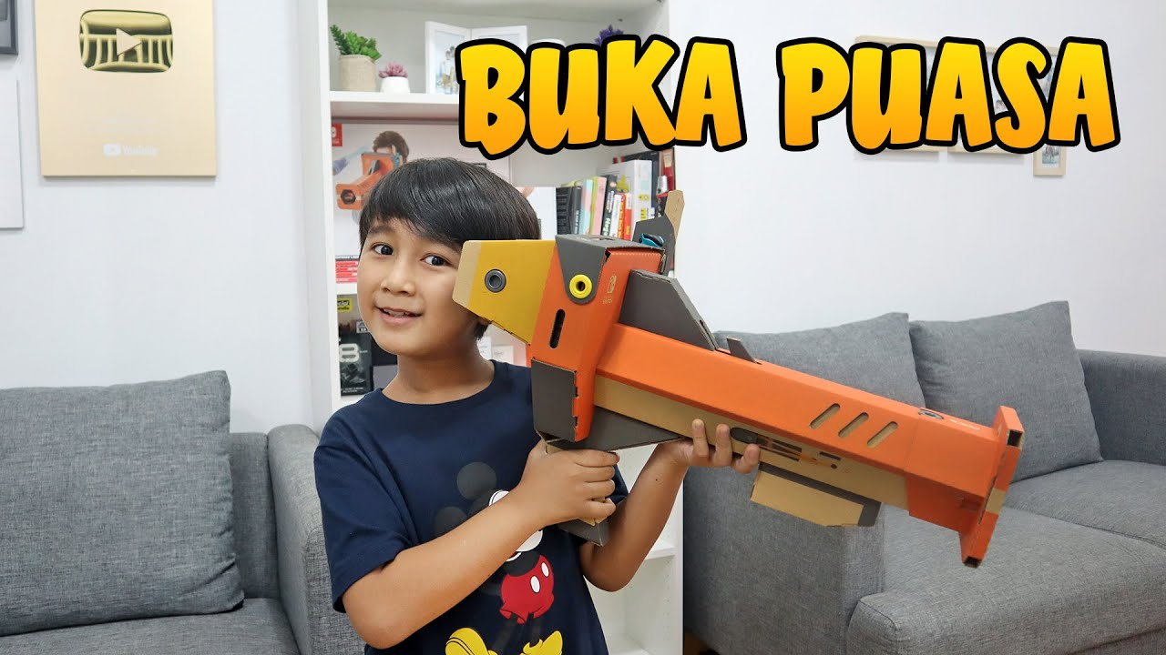 Ziyan Nunggu Buka Puasa Sambil Main Game