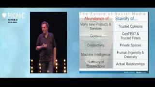 The Future of Social Media Gerd Leonhard Picnic 2009 Amsterdam part 3