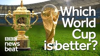 Which World Cup is better? Rugby or Football? | BBC Newsbeat