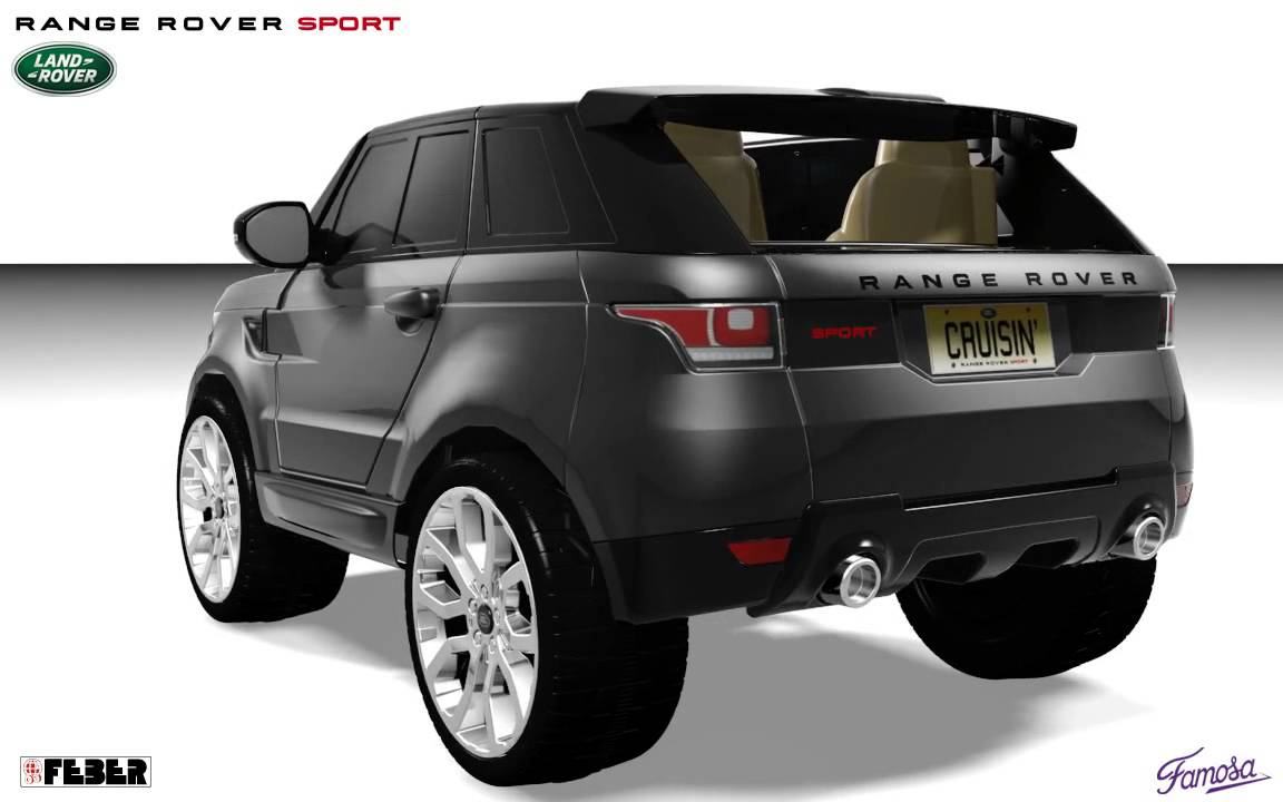 Feber Range Rover Sport Grey Youtube