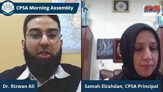 CPSA Morning Assembly Friday February 5, 2021