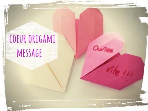 Tuto origami c ur saint valentin youtube - Comment faire un papier cadeau ...