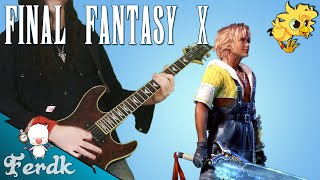 "Final Fantasy X - ""Normal Battle"" 【Metal Guitar Cover】 by Ferdk"
