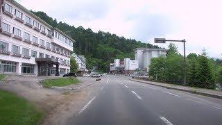 北海道鹿追町 道道85号然別湖へ 2012/07/04
