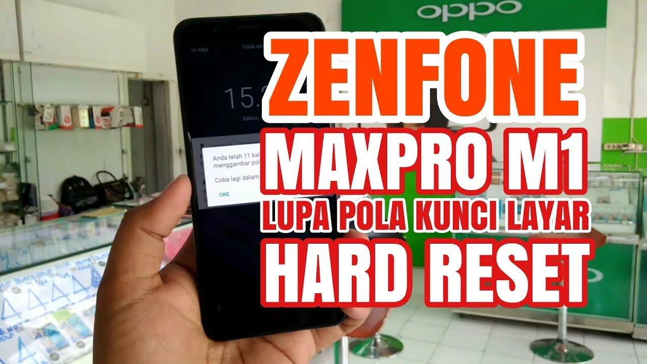 Lupa Pola Kunci Layar Asus Zenfone Max Pro M1 Youtube