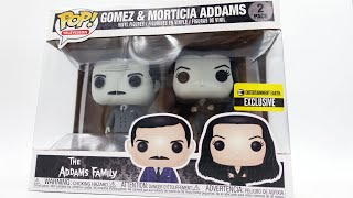 The Addams Family - Gomez and Morticia - Entertainment Earth and FYE