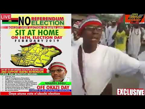 TODAY'S TOPIC : BIAFRANS  RESPECT YOURSELF!!!