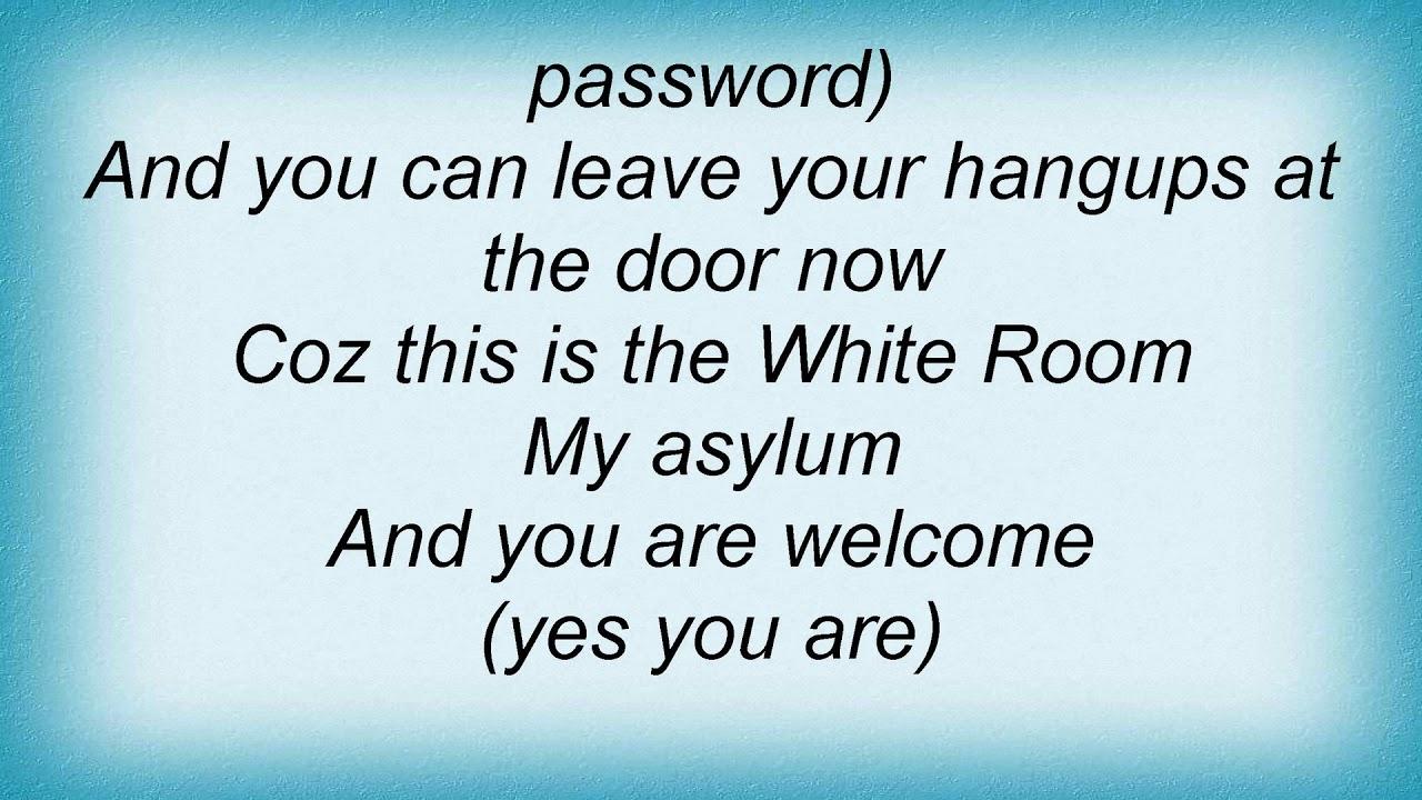 Alisha\'s Attic - White Room Lyrics - YouTube