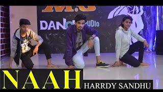 Naah | harrdy sandhu dance | choreography | prince verma