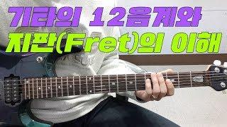 기타의 12음계와 지판(Fret)의 이해