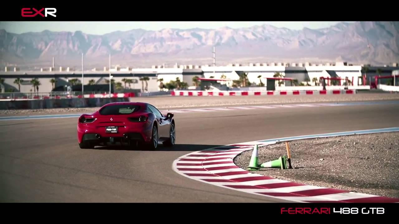 Test Drive Ferrari 488 Gtb At Exotics Racing Las Vegas Youtube