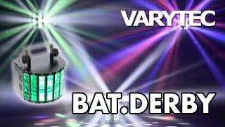 Varytec BAT.DERBY: party everywhere...battery power!