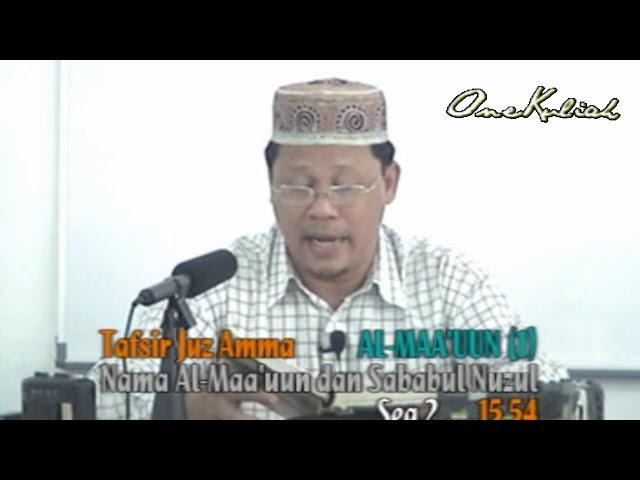 Drs Kariman-Tafsir Al Ma'un