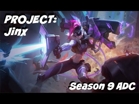 League of Legends PROJECT: Jinx ADC Gameplay