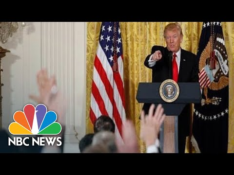 Watch Live: Trump Hosts Turkey's Erdogan At The White House | NBC News