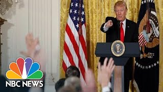 Watch Live Trump Hosts Turkey39s Erdogan At The White House  NBC News