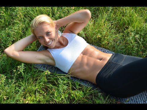 Nejúčinnější cviky na ploché břicho